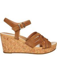 bec69cd43dc Lyst - Ralph Lauren Collection Uma Tieup Canvas Espadrille Sandals ...