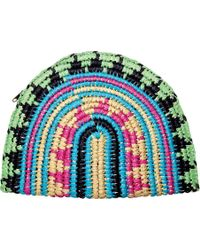 San Diego Hat Company - Paper Clutch With Zip Closure Bsb1702 - Lyst