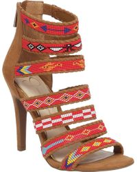 Jessica Simpson - Erienne Strappy Sandal - Lyst