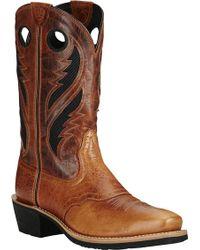 Ariat - Heritage Roughstock Venttek Cowboy Boot - Lyst