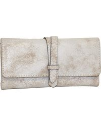 Nino Bossi - Crackle Flap Wallet - Lyst