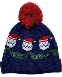 San Diego Hat Company | Santa Knit Beanie With Pom Pom Knh3499 | Lyst