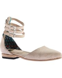 Freebird by Steven - Eden Closed Toe Ankle Strap Sandal - Lyst