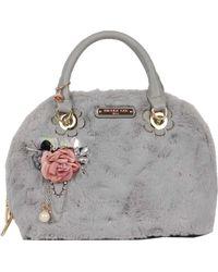 Nicole Lee - Yeva Faux Fur Dome Handbag - Lyst