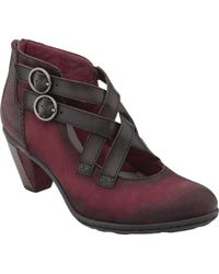 Earth - Amber Heeled Bootie - Lyst