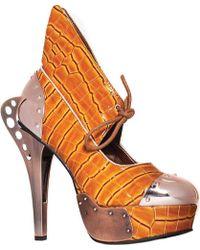 hades - Astro Steampunk Heeled Sandal - Lyst
