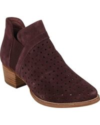 Earth - Keren (charcoal Grey Suede) Women's Pull-on Boots - Lyst