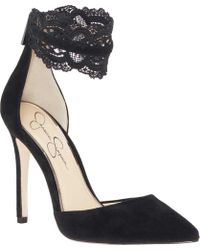 Jessica Simpson - Portalynn Ankle Strap D'orsay Shoe - Lyst