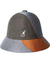 Kangol - Color Blocked Bucket Hat - Lyst bc9c32ab4db