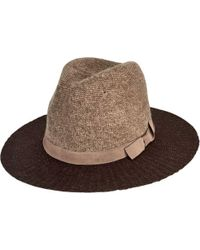 6aed034c356 San Diego Hat Company - Colorblock Knit Fedora Knh3614 - Lyst
