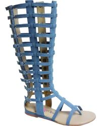 Penny Loves Kenny - Copa Gladiator Sandal Boot - Lyst