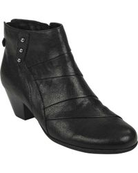 b9c69f8764a Lyst - Earth Brook Slouch Boot in Black