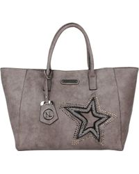 Nicole Lee - Brona Glitz Star Patch Shopper Bag - Lyst