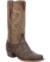 Lucchese Bootmaker - Burke 7 Toe Western Boot - Lyst