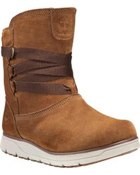 Timberland - Leighland Waterproof Pull On Boot - Lyst