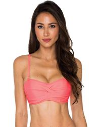 Sunsets - Iconic Twist Underwire Twist Bandeau (efgh) - Lyst