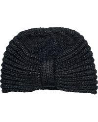 San Diego Hat Company - Knit Lurex Yarn Turban Knh3477 - Lyst