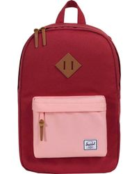 531f2f93024 Lyst - Herschel Supply Co. Heritage Mid Volume Backpack in Pink