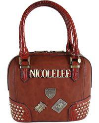 Nicole Lee - Beckett Monogram Print Mini Bag - Lyst