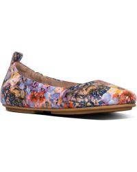 3e26eec5cb36 Fitflop - Allegro Flowercrush Ballet Flat - Lyst