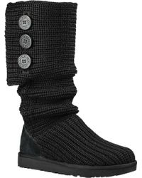 UGG - Classic Cardy Sweater Boot - Lyst