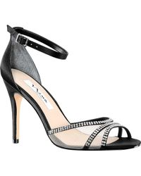 Nina - Calissa Ankle Strap Stiletto Sandal - Lyst