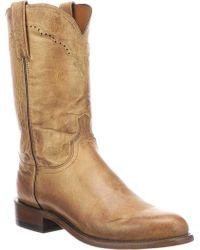 Lucchese Bootmaker - M1018.c2 Round Roper Toe 2 Heel - Lyst