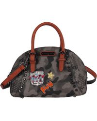 Nicole Lee - Laquanna Print Bowler Bag - Lyst