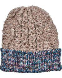 San Diego Hat Company - Knit Beanie With Contrast Yarn Cuff Knh3465 - Lyst