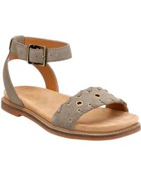 Clarks Corsio Amelia Ankle Strap Sandal(Women's) -Black Cow Suede Limited Edition Cheap Online Clearance Cheap Price Sale Best Sale Cheap Sale Buy Free Shipping 2018 kT23QU4xr