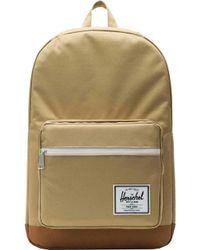 961ad120e3e Lyst - Herschel Supply Co. . Green Woven Pop Quiz Backpack in Green ...