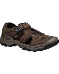 Teva - Omnium 2 Leather Walking Sandal - Lyst