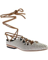 Freebird by Steven - Enya Ghillie Lace Shoe - Lyst