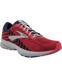 40de70df8e1 Lyst - Brooks Launch 6 Running Shoes in Red for Men