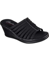 cd326cde1383 Skechers - Rumblers Hotshot Wedge Slide - Lyst