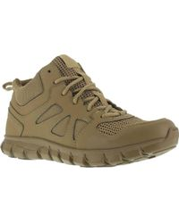 Reebok - Rb8406 Sublite Cushion Tactical Mid St Work Shoe - Lyst