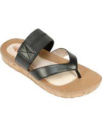 White Mountain Footwear | Savaria Thong Sandal | Lyst