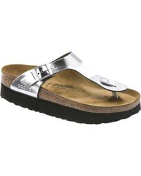 3d079bfc2c76 Birkenstock - Papillio Gizeh Platform Thong Sandal - Lyst