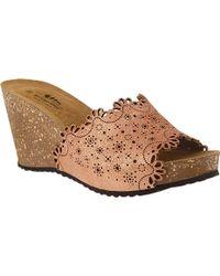 Spring Step Doilie Women's ... Wedge Sandals MV73zb2OMz