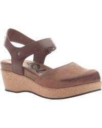 81e41b1a6886 Lyst - Otbt Caravan (copper) Women s Wedge Shoes in Brown