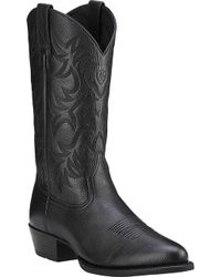 Ariat - Heritage Western R Toe Boot - Lyst