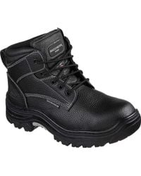 Skechers - Work Relaxed Fit Burgin Congaree Boot - Lyst