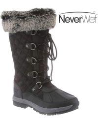 BEARPAW - Gwyneth Lace-up Boot - Lyst