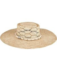 ff547b995d45b San Diego Hat Company - Sisal Floppy Hat With Rope Trim Sps1001 - Lyst