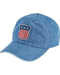 3f3fe253741 San Diego Hat Company - Unstructured curved Brim Cap With Patch Slw1006 -  Lyst