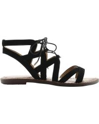 2b6768937c9a66 Lyst - Sam Edelman  gemma  Sandals in Gray