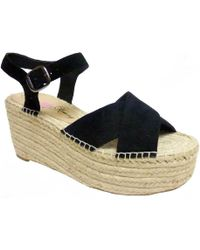 58e723556f7 Penny Loves Kenny - Friend Platform Wedge Sandal - Lyst