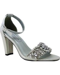 Touch Ups - Felicity Jeweled Sandal - Lyst