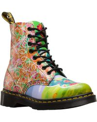 Dr. Martens - Pascal Daze In Backhand Leather Fashion Boot - Lyst