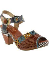 Spring Step - Jive Quarter Strap Sandal - Lyst